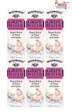 6 x Woodward's Gripe Water 150ml Relief of Wind & Gripe Alcohol & Sugar Free