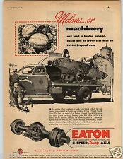 1948 PAPER AD Trucks Dodge Cross-Type Steering Eaton Axle Air-O-Ride Seats