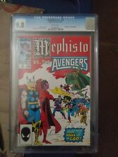 Marvel The Avengers Mephisto vs. The Avengers Vol. 1 No. 4  Jan 1987 CGC 9.8
