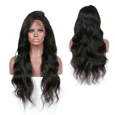26 inch Black Women Curly Wig Glueless Full Lace Wigs Remy Lace Front Human Hair