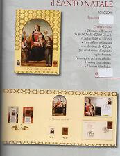 folder postali il santo natale  duemilaotto - 30-10-2008