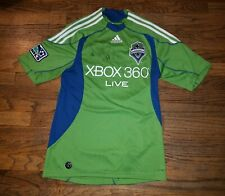 Vintage Seattle Sounders FC Fredy Montero Autographed Soccer Jersey Adidas MLS