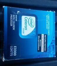 Desktop Intel Celeron Processor (E3300/ LGA775) Retail Box
