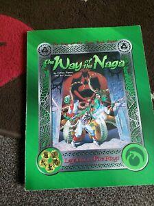 WAY OF THE NAGA - AEG 3014 - LEGEND OF THE FIVE RINGS RPG SOURCEBOOK 1999