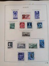 Francobolli,  Italia Repubblica, 1949 - 1950, nuovi, usati, linguellati