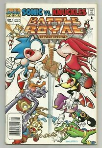 SONIC VS. KNUCKLES: BATTLE ROYALE SPECIAL #1 ~ SIGNED BY KEN PENDERS ~ FN- 1997