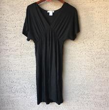 White House Black Market Small Basic Black Dress Modal Stretch S