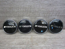 4 Stk. Felgendeckel Nabendeckel Nabenkappen Voolium High Performance weels C-030
