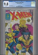 Uncanny X-Men #275 CGC 9.8 1989 Marvel Comics Wraparound Gatefold Cover