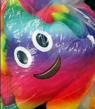 Rainbow 50cm emoji plush Soft toys Kids Fun Pillow Cushion cartoon Poop Stuffed