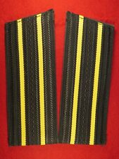 Captain 3rd rank- Captain 1st rank shoulder boards for everyday uniform.