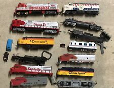 Large Lot Of HO Scale Train Engines Parts And Pieces !!!!