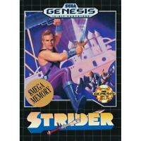 Strider - Sega Genesis Game *CLEAN VG