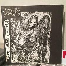 """GLOOM Speed Noise Hardcore Rags 7"""" Crust War OG Japan Punk Framtid DIsclose Rare"""