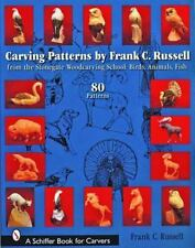 Carving Patterns by Frank C. Russell: From the Stonegate Woodcarving School (Pap