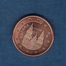 Espagne - 2009 - 5 centimes d'euro - Pièce neuve de rouleau -
