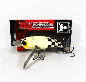Jackall Pompadour Mega Floating Topwater Lure Bone Checker (0935)