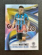 2020-21 Topps Chrome UEFA CL Golazo Lautaro Martinez Internazionale