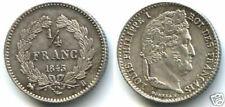 Pièces de monnaie françaises de 25 centimes pour 25 Centimes sur Louis-Philippe