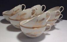 LENOX Wheat Pattern Coffee/Tea Cups (SET OF 12) - R-442