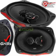 VIBE Slick 69.3-v7 Speakers Grills Cables Etc 480 Watts Car 6x9