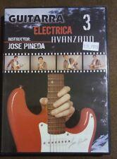Guitarra Electrica Avanzado Instructor desde José Pineda (DVD) NIP profesional