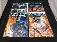 Nightwing Rebirth 1, 2, 3 + Rebirth One Shot Set  2016 DC Comics VF/NM Grayson
