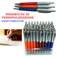 60 Penne Personalizzabili Gadget Pubblicitari Logo Stock Inchiostro Blu 928