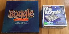 Lot of Two Vintage Parker Brothers Games - Big Boggle and Boggle Deluxe