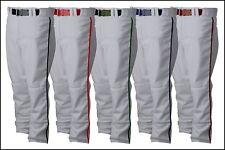 Rawlings Hemmed Open Bottom Adult Mens Baseball Pants PP350MRP White or Grey