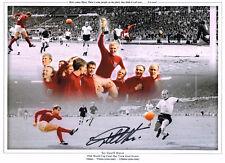 SALE GEOFF HURST SIGNED 1966 ENGLAND WORLD CUP PHOTO AUTOGRAPH WEST HAM  2