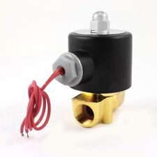 """12VDC 3/8"""" Inch Electric Air Gas Water Solenoid Valve Normally Closed"""