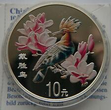 CHINA 10 YUAN 2000 BIRD COLOR