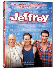 Jeffrey (DVD, 2007) Gay Interest • Steven Weber • Patrick Stewart - NEW