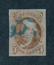 drbobstamps US Scott #1 Used Sound Stamp w/Attractive Cancel