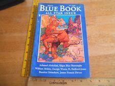 The Blue Book 1935 Edgar Rice Burroughs John Carter Swords of Mars Pulp VF+