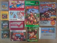 Lot DONKEY KONG  1 2 3 JR. 2001 - Game Boy / Famicom / Super Famicom - Nintendo