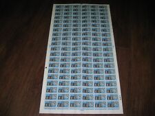 COMPLETE  SHEET 1966 ABBEY PHOSPHOR PHOS 120 STAMPS SG 687p