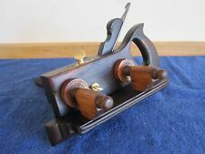 Vintage Antique D. R. Barton Brazilian Rosewood Plow Woodworking Plane Tool