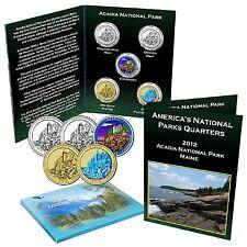 National Park Quarter Set - Acadia National Park Maine