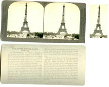 Stereoview Eiffel Tower Paris France
