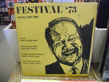 Clark Terry Festival '73 Charles City High School 2XLP VG+ Private Press MN Jazz