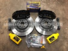 SUBARU IMPREZA FRONT 6 POT COSWORTH AP RACING BRAKE CALIPERS DISCS PADS WRX STI