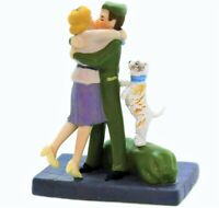 """NEW RARE CIC Dept 56, """"Wrapped Up In Love"""" # Retired"""