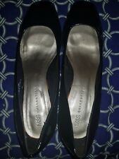 Women shoes. New Black and brown shoe. block heels. Size 7. Size 8. Formal