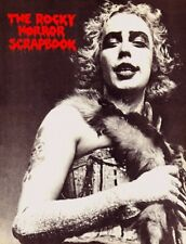 Rocky Horror Picture Show Scrapbook Poster Tim Curry Rare Large