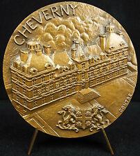 Médaille Château de Cheverny la Loire Jacques Bougier Orléanais Portail Medal