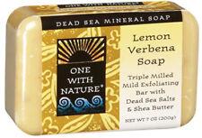 Dead Sea Mineral Bar Soap, One With Nature, 7 oz Lemon Verbena