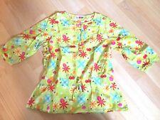 DPAM - Tunique blouse anis imprimée ♥ Taille 8 ans ♥ TBE !!