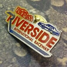 Riverside International Raceway pin badge